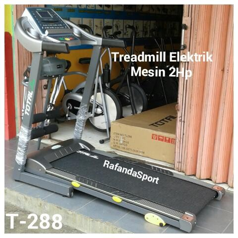 Treadmill Elektrik 4in1 T-288 Mesin 2Hp