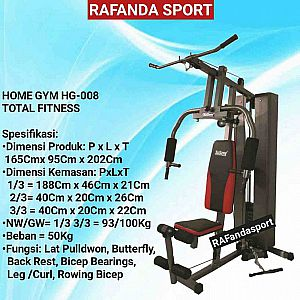 Home Gym 1 Sisi T-008AG Anti Gores